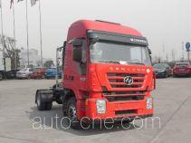 红岩牌CQ4186HMG381TAC型集装箱半挂牵引车