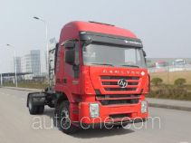 SAIC Hongyan CQ4186HTG38-441TC container carrier vehicle