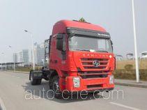 SAIC Hongyan CQ4186HTG38-441TU dangerous goods transport tractor unit