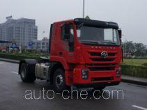 SAIC Hongyan CQ4186HTVG361U dangerous goods transport tractor unit