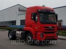 SAIC Hongyan CQ4186ZTVG361U dangerous goods transport tractor unit