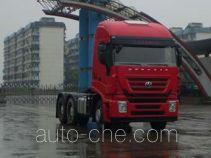 SAIC Hongyan CQ4254HTVG324VC container transport tractor unit