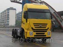 SAIC Hongyan CQ4254HXWG324C container transport tractor unit