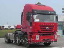 SAIC Hongyan CQ4255HTDG273U dangerous goods transport tractor unit
