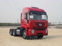 SAIC Hongyan CQ4255HTVG334C container carrier vehicle