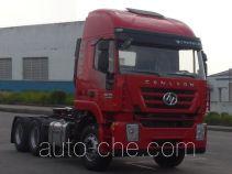红岩牌CQ4255HXVG334C型集装箱半挂牵引车