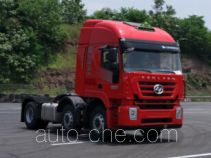 SAIC Hongyan CQ4256HTDG273U dangerous goods transport tractor unit