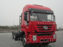 SAIC Hongyan CQ4256HTG384TBC container carrier vehicle