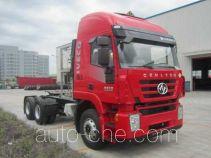 SAIC Hongyan CQ4256HTG384TU dangerous goods transport tractor unit