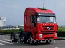 SAIC Hongyan CQ4256HXVG273U dangerous goods transport tractor unit