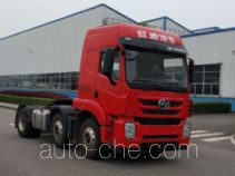 SAIC Hongyan CQ4256ZMVG273U dangerous goods transport tractor unit