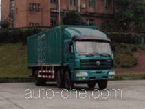 SAIC Hongyan CQ5163XXYTLG503 box van truck