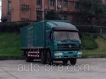 SAIC Hongyan CQ5203XXYTLG533 box van truck