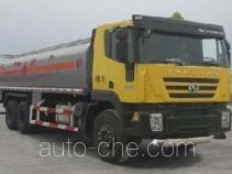 SAIC Hongyan CQ5254GJYHMG504 fuel tank truck