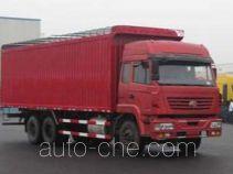 SAIC Hongyan CQ5254XXYSRG494P soft top box van truck