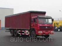 SAIC Hongyan CQ5254XXYTPG384P автофургон с тентованным верхом