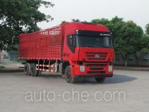 SAIC Hongyan CQ5255CCYHMG594 stake truck