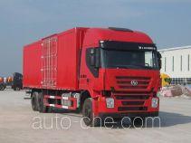 SAIC Hongyan CQ5255XXYHMG594 фургон (автофургон)
