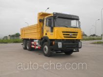 SAIC Hongyan CQ5255ZLJHTDG384S dump garbage truck