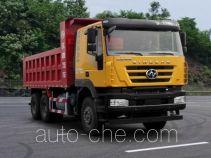 SAIC Hongyan CQ5256ZLJHMDG384S dump garbage truck