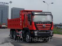 SAIC Hongyan CQ5256ZLJHMVG384LA dump garbage truck