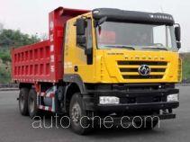 SAIC Hongyan CQ5256ZLJHTVG384S dump garbage truck