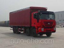 SAIC Hongyan CQ5314XXYHTG466VP soft top box van truck