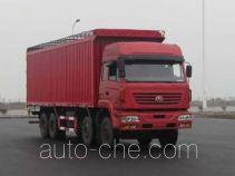 SAIC Hongyan CQ5314XXYSTG366P soft top box van truck