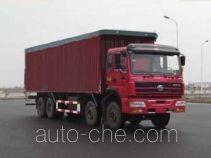 SAIC Hongyan CQ5314XXYTTG366P soft top box van truck