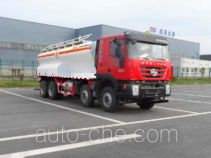 SAIC Hongyan CQ5315THAHTG466 ammonuim nitrate and fuel oil (ANFO) on-site mixing truck