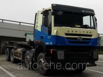 SAIC Hongyan CQ5316ZXXHTG306 detachable body garbage truck