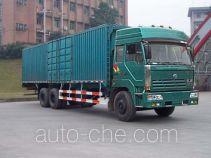 SAIC Hongyan CQZ5250XXY box van truck