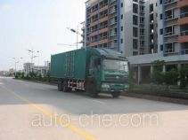 SAIC Hongyan CQZ5254XXY49A box van truck