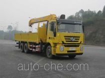 SAIC Hongyan CQZ5255JSQ50CQ truck mounted loader crane