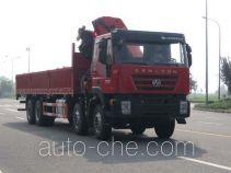 SAIC Hongyan CQZ5315JSQ46CQ truck mounted loader crane