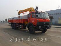 楚胜牌CSC5250JSQE4型随车起重运输车