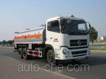 Chusheng CSC5251GHYD8 chemical liquid tank truck