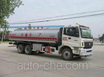 Chusheng CSC5252GHYB chemical liquid tank truck