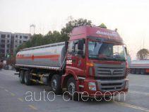 Chusheng CSC5313GHYB chemical liquid tank truck