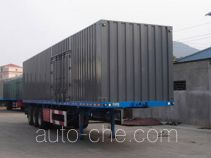 XGMA Chusheng CSC9280XXY box body van trailer