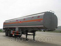 Chusheng CSC9350GYY oil tank trailer