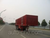 XGMA Chusheng CSC9390XXY box body van trailer