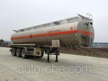 Chusheng CSC9400GRYL flammable liquid aluminum tank trailer