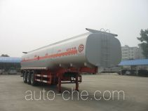 Chusheng CSC9401GHY chemical liquid tank trailer