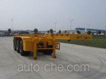 Chusheng CSC9402TWY dangerous goods tank container skeletal trailer