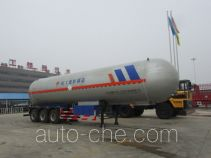 Chusheng CSC9404GYQ liquefied gas tank trailer