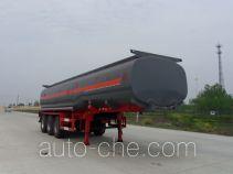 Chusheng CSC9406GHY chemical liquid tank trailer