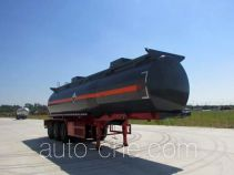 Chusheng CSC9407GFW corrosive materials transport tank trailer