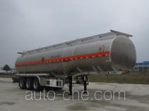 楚胜牌CSC9407GYYLE型铝合金运油半挂车