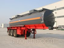 Chusheng CSC9409GFW corrosive materials transport tank trailer